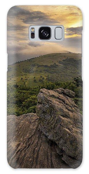 Rocky Sunset - Roan Mountain Galaxy Case