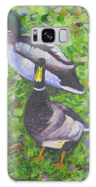 Somerset Ducks Galaxy Case
