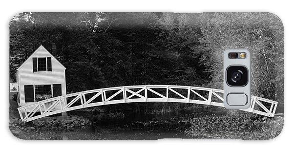 Somesville Bridge In Acadia National Park Galaxy Case