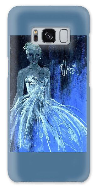 Something Blue Galaxy Case by P J Lewis