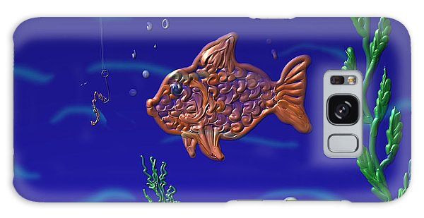 Something Fishy Galaxy Case