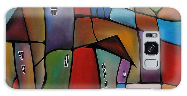 Somewhere Else - Abstract Pop Art By Fidostudio Galaxy Case