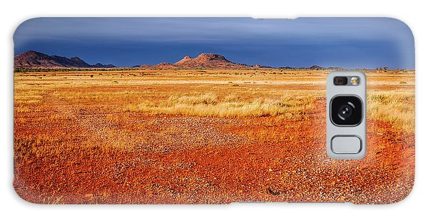Somewhere In The Outback, Central Australia Galaxy Case