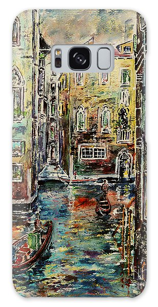 Somewhere In Venice Galaxy Case