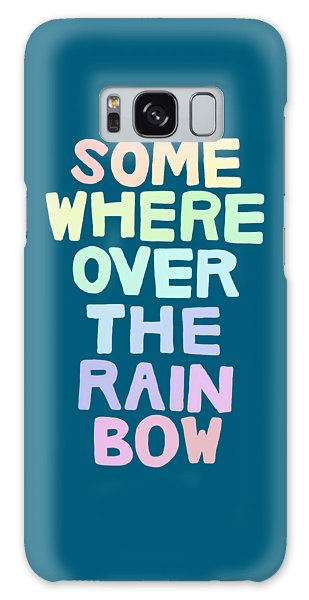 Somewhere Over The Rainbow Galaxy Case