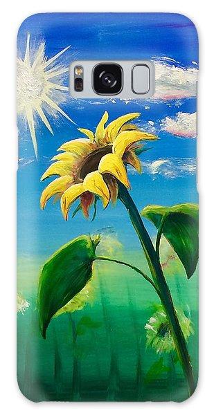 Sonflower Galaxy Case