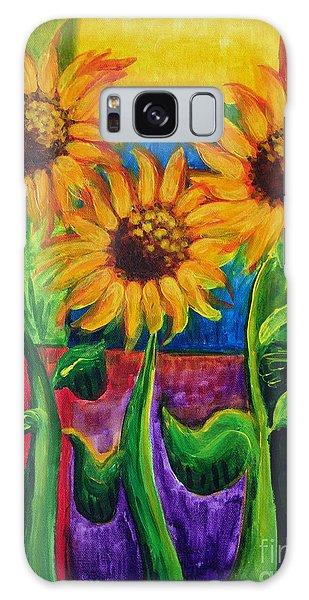 Sonflowers II Galaxy Case