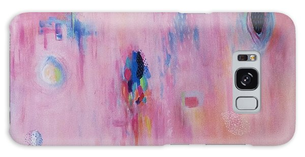 Working Through The Layers Pink Galaxy Case by Suzzanna Frank
