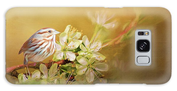 Song Sparrow Galaxy Case