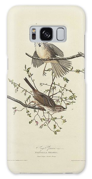 Song Sparrow Galaxy Case by Dreyer Wildlife Print Collections