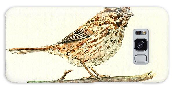 Song Bird Galaxy Case - Song Sparrow by Juan  Bosco