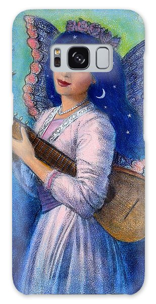 Songbird For A Blue Muse Galaxy Case