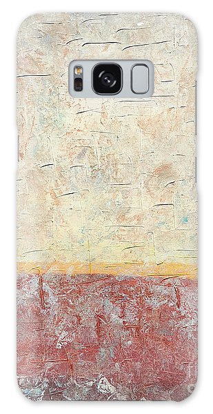 Sonoran Desert #2 Southwest Vertical Landscape Original Fine Art Acrylic On Canvas Galaxy Case