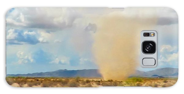 Sonoran Desert Dust Devil Galaxy Case