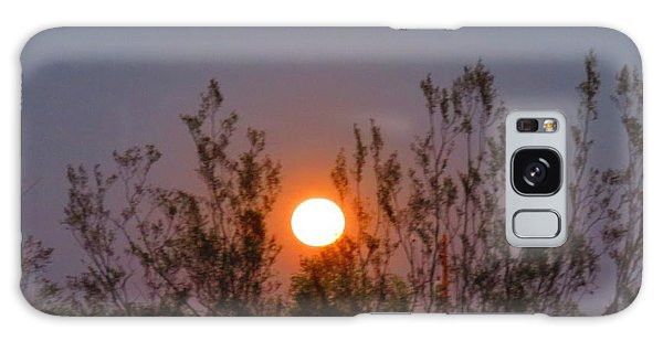 Sonoran Desert Harvest Moon Galaxy Case