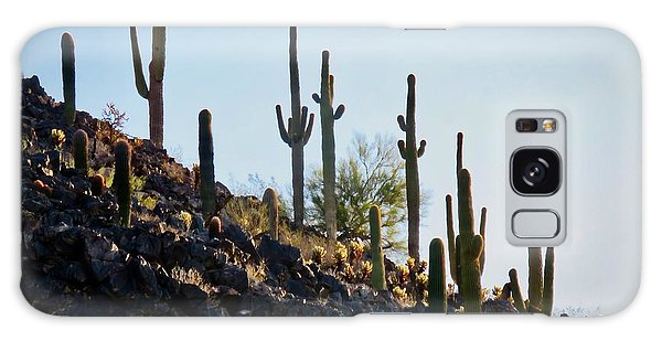 Sonoran Desert Saguaro Slope Galaxy Case