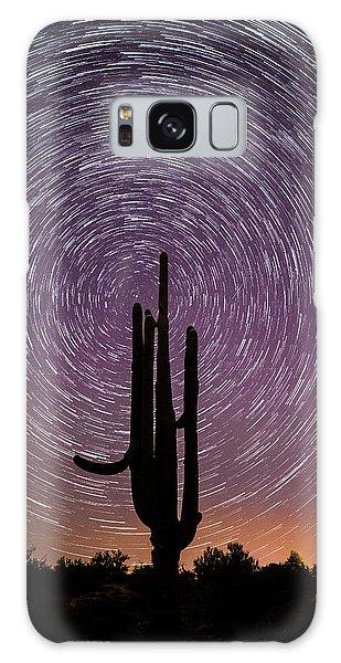 Sonoran Star Trails Galaxy Case