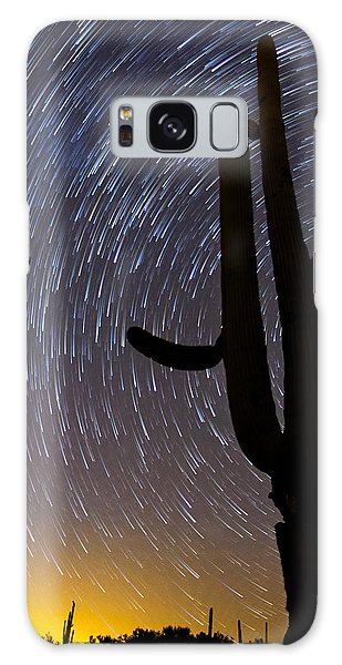 Sonoran Startrails - Reaching For The Stars Galaxy Case