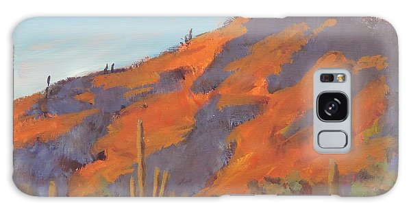 Sonoran Sunset - Art By Bill Tomsa Galaxy Case