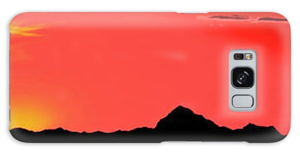 Sonoran Sunset  Galaxy Case