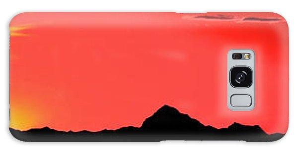 Sonoran Sunset  Galaxy Case