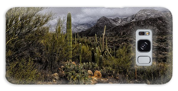 Sonoran Winter No.3 Galaxy Case