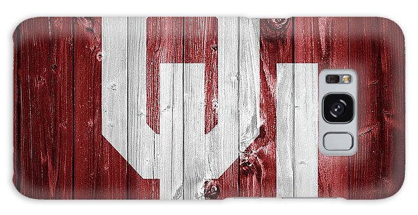 Sooners Barn Door Galaxy Case