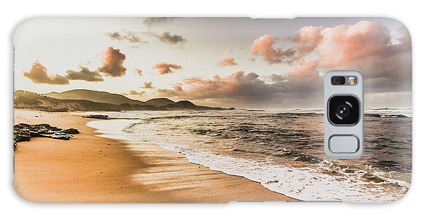 Tides Galaxy Case - Soothing Seaside Scene by Jorgo Photography - Wall Art Gallery