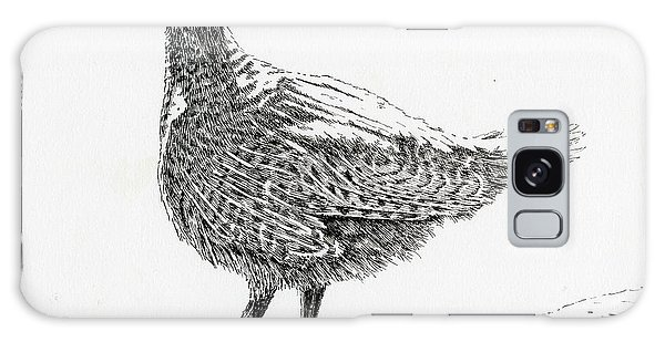 Sooty Grouse Galaxy Case