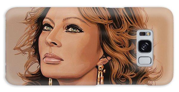 Sophia Loren 3 Galaxy Case by Paul Meijering