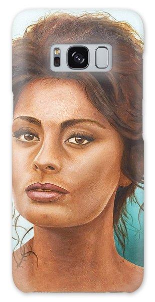Sophia Loren Galaxy Case