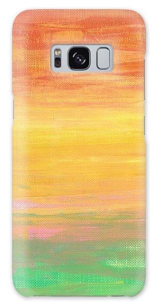 Sorbet Sunset Galaxy Case