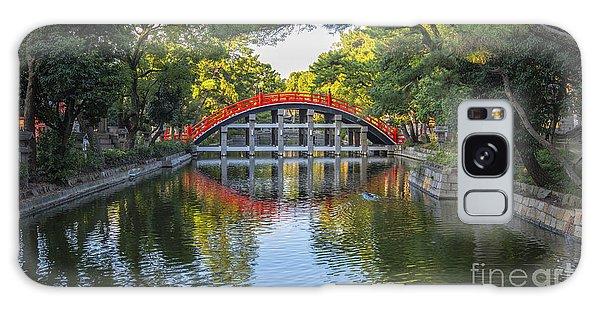 Sorihashi Bridge In Osaka Galaxy Case by Pravine Chester