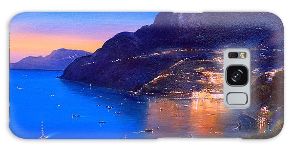 Galaxy Case featuring the painting La Dolce Vita A Sorrento by Rosario Piazza