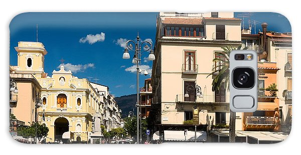 Sorrento Italy Piazza Galaxy Case by Sally Weigand