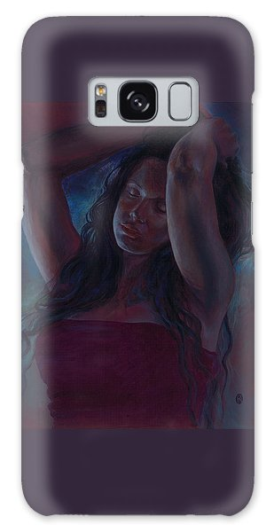 Galaxy Case featuring the painting Soul Nocturne by Ragen Mendenhall