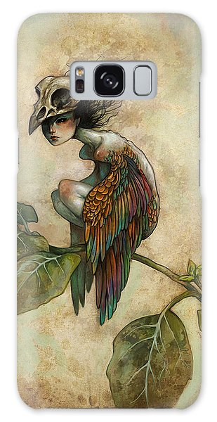 Galaxy Case - Soul Of A Bird by Caroline Jamhour