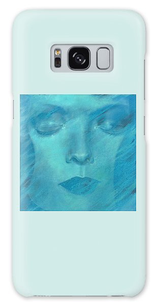 Galaxy Case featuring the painting Soul  by Ragen Mendenhall