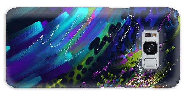 Soul So Blue Galaxy Case by Kevin Caudill