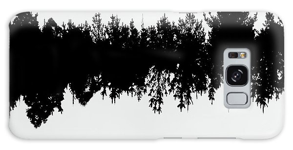 Sound Waves Made Of Trees Reflected Galaxy Case