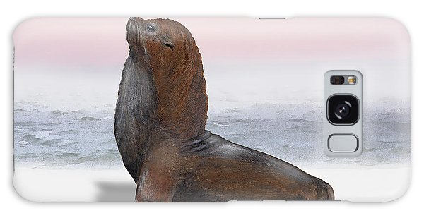 South American Fur Seal Arctocephalus Australis Male - Marine - Seebaer  Galaxy Case