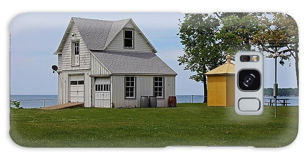 South Bass Island Lighthouse Barn And Oil Storage Building I Galaxy Case