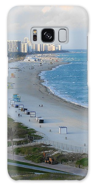 South Beach At Its Best Galaxy Case by Margaret Bobb