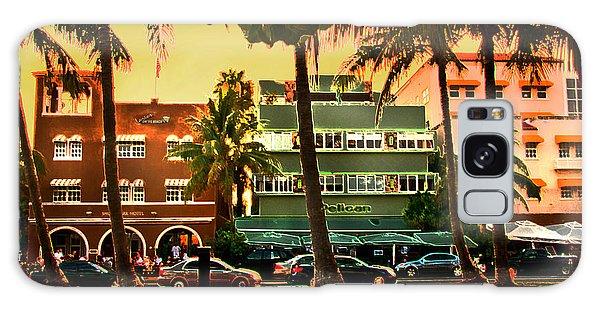 South Beach Ocean Drive Galaxy Case