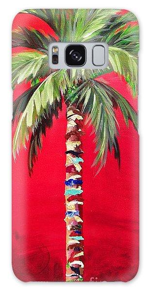 South Beach Palm II Galaxy Case