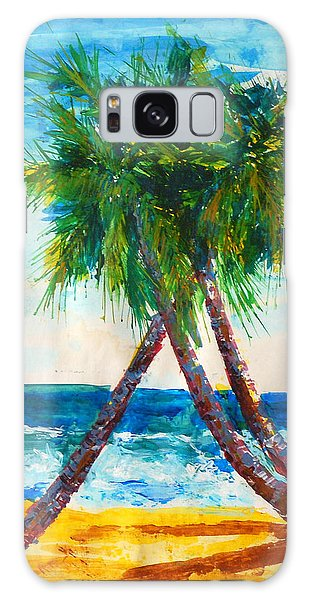 South Beach Palms Galaxy Case