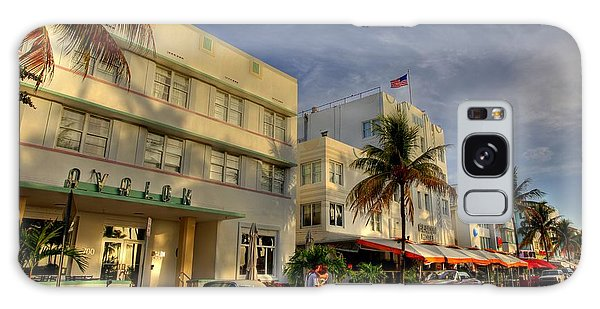 South Beach Park Central Hotel Galaxy Case by Sean Allen