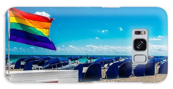 South Beach Pride Galaxy Case