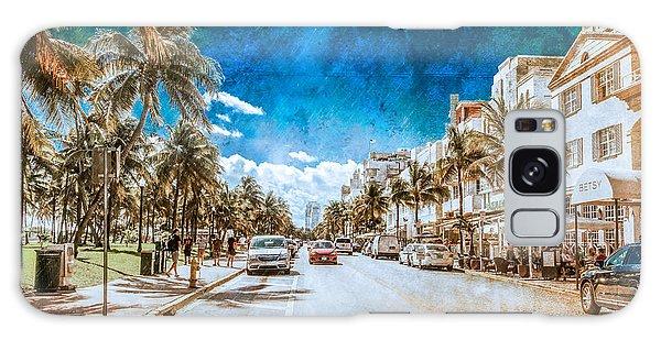 South Beach Road Galaxy Case