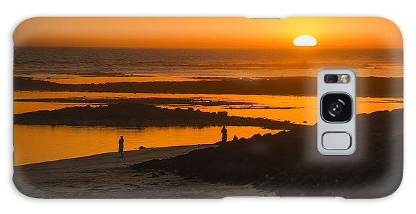 Fairy Pools Galaxy Case - South Beach Sunset by Ray Warren